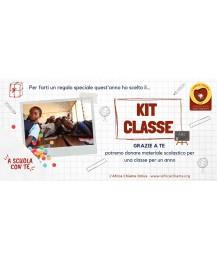 """Kit Classe """"A Scuola con Te"""" per acquistare materiale scolastico per 1 classe"""